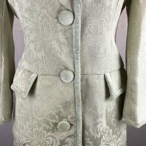 Arden B Jackets & Coats - ARDEN B Mint Green Embroidered Trench Coat/Jacket